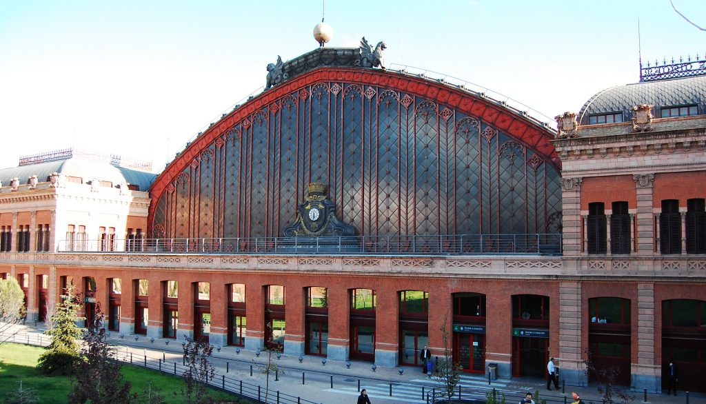 Atocha Station, Madrid | 7 Most Asntonishing Train Stations in the World | Brain Berries
