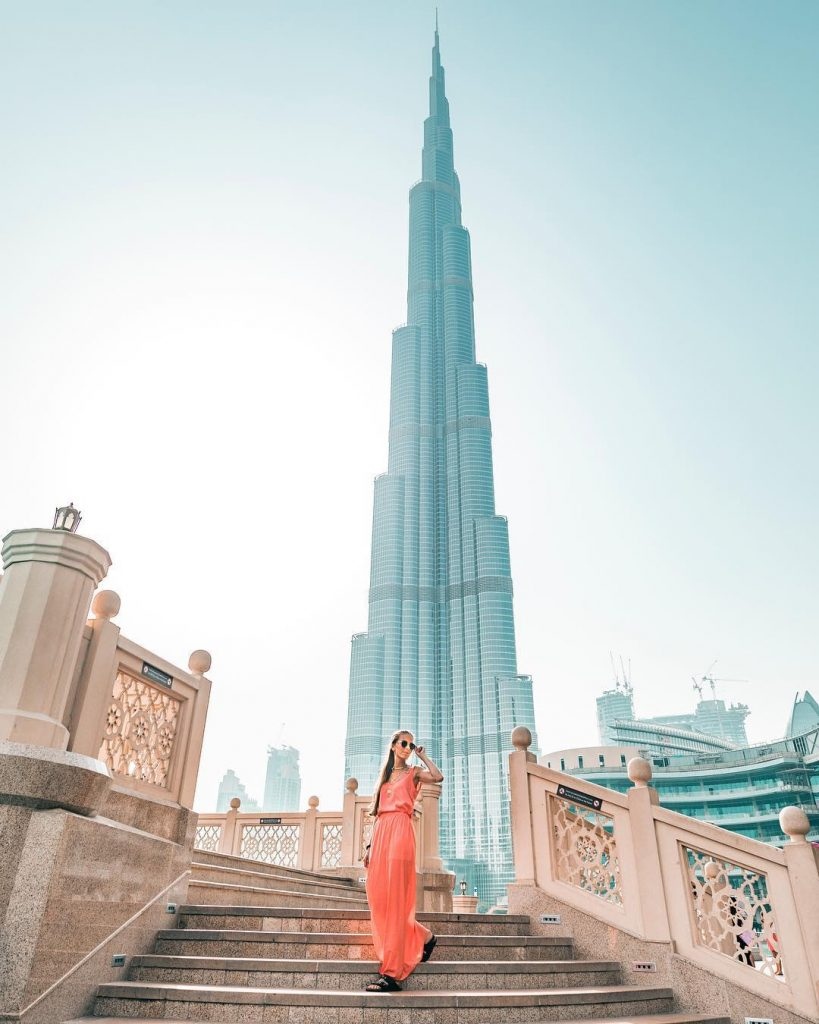Бурдж-Халифа | 10 cамых инстаграмных мест в мире | BrainBerries