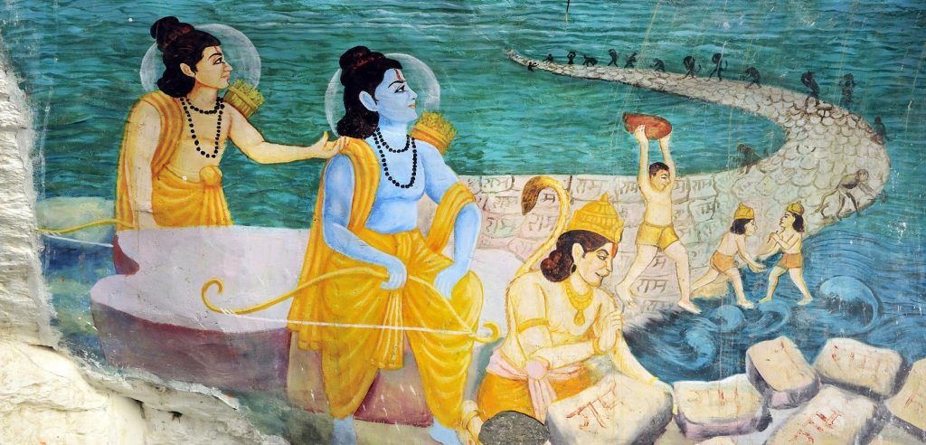 "Ramayana | Could This Be The Ancient ""Magic Bridge"" Connecting India And Sri Lanka? 