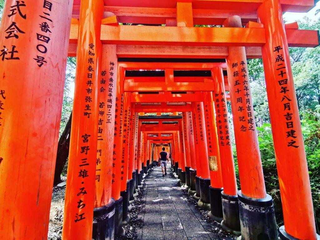 Святилище Фусими Инари | Киото – город, который стоит посетить хотя бы раз | Brain Berries