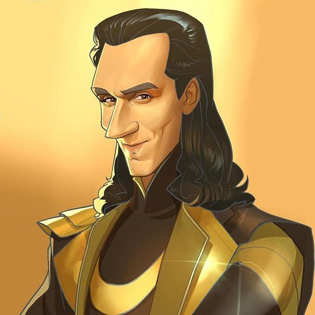 Loki | 23 Marvel Heroes Raimagined by Xi Ding | Brain Berries