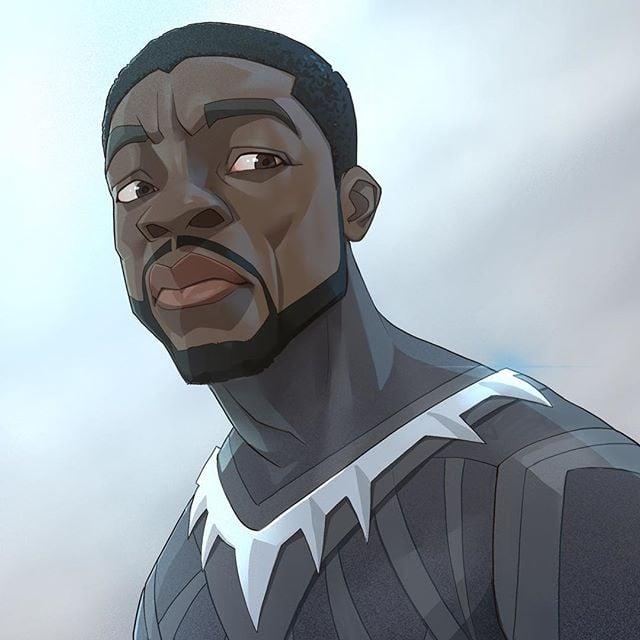 Black Panther   | 23 Marvel Heroes Raimagined by Xi Ding | Brain Berries