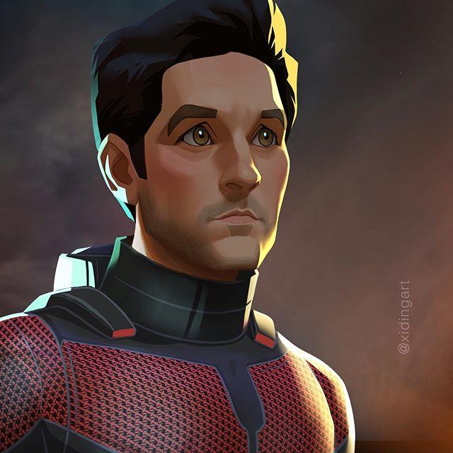 Ant-Man  | 23 Marvel Heroes Raimagined by Xi Ding | Brain Berries
