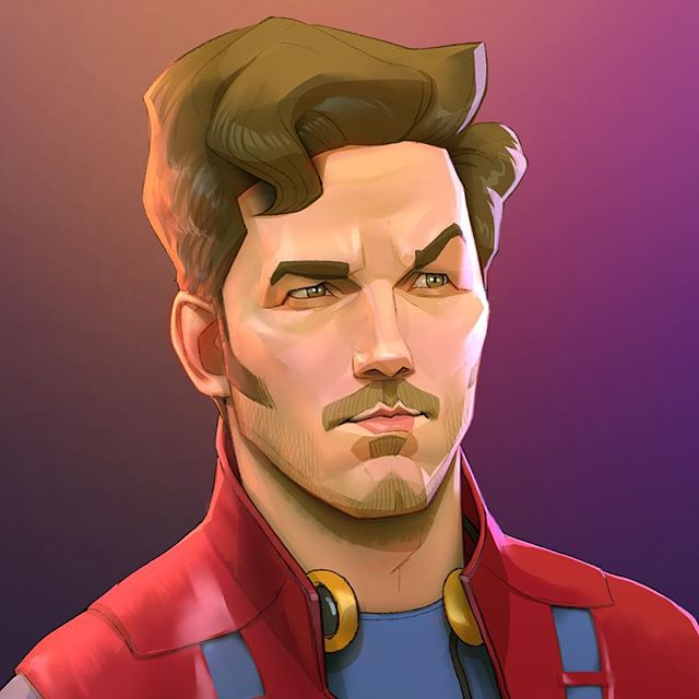 Star Lad | 23 Marvel Heroes Raimagined by Xi Ding | Brain Berries