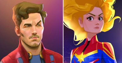 23 Marvel Heroes Raimagined by Xi Ding | Brain Berries