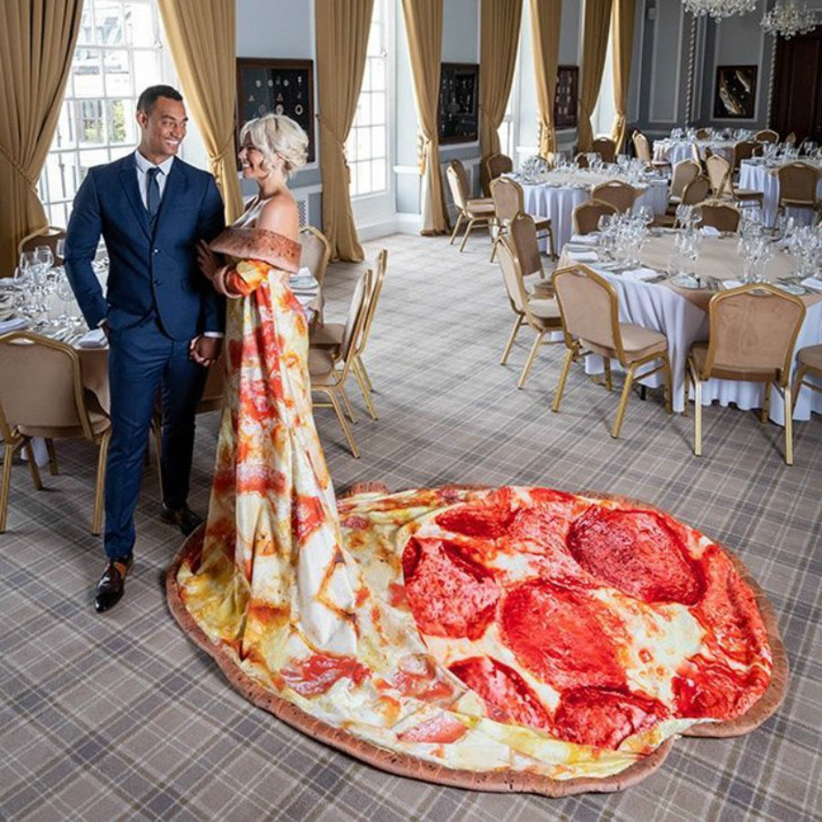 Pizza-Themed Wedding Just Became A Reality For Pizza Fans #1 | ZestRadar