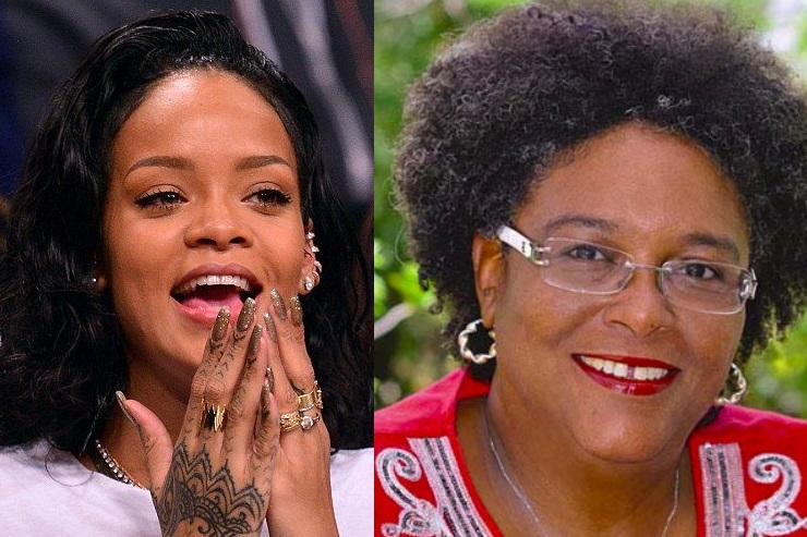The Prime Minister of Barbados, who is named Mia Amor Mottley | A Rihanna Museum Is Probably Opening Soon | Brain berries