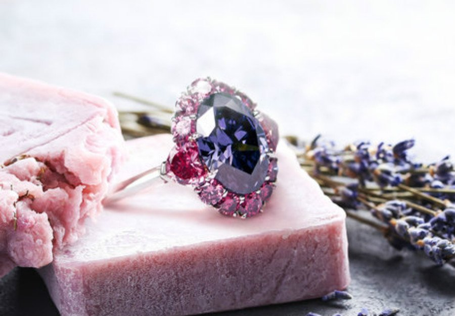 Violet diamonds | These Colored Diamonds Are The Most Expensive In The World | ZestRadar