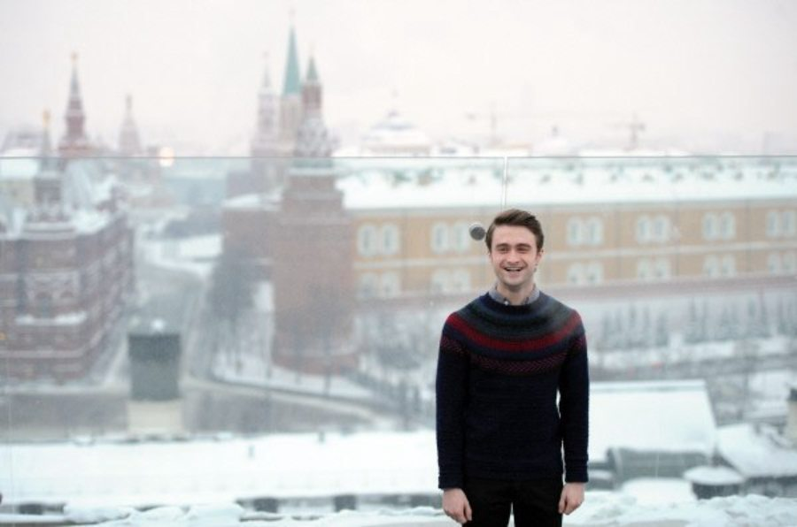 Дэниел Рэдклифф |  12 голливудских знаменитостей, которые влюблены в Россию|  ZestRadar