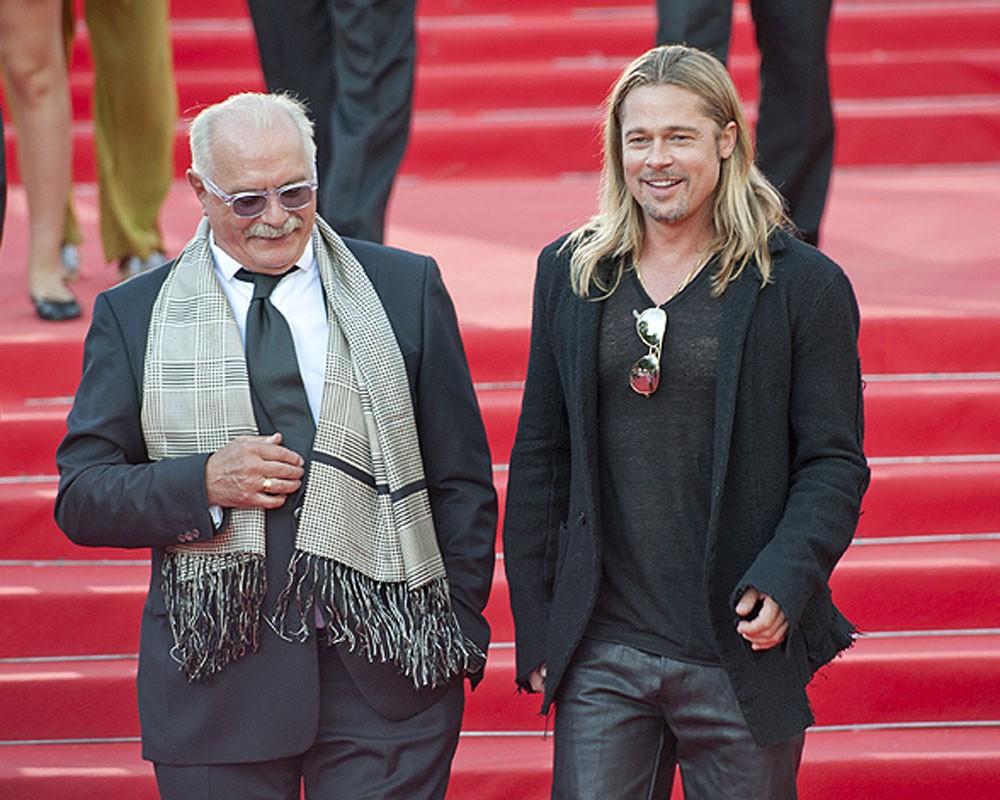 Брэд Питт|  12 голливудских знаменитостей, которые влюблены в Россию|  ZestRadar