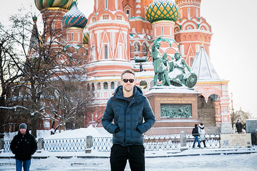 Райан Рейнольдс |  12 голливудских знаменитостей, которые влюблены в Россию|  ZestRadar