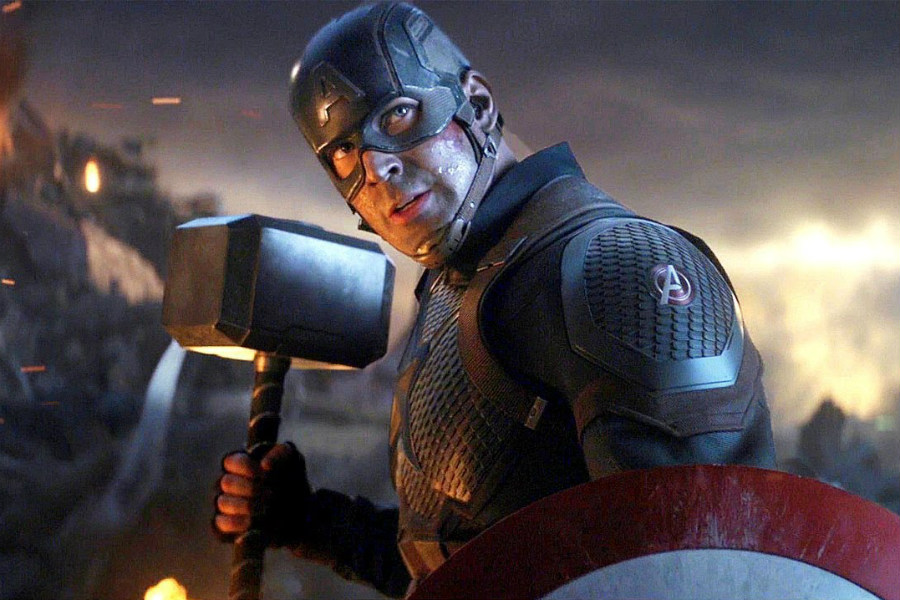 Lifting Thor's hammer | 10 Most Badass Moments Of Captain America | ZestRadar