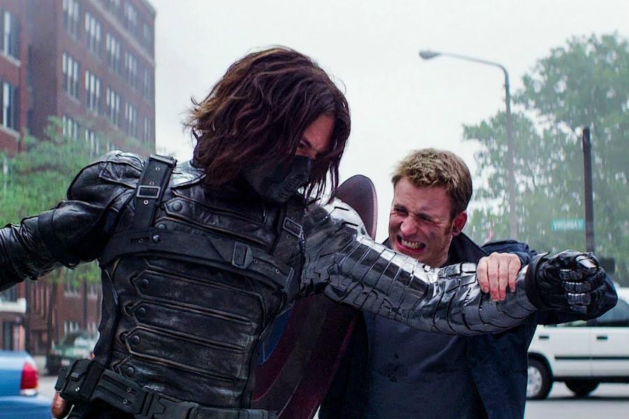 Fighting Winter Soldier | 10 Most Badass Moments Of Captain America | ZestRadar