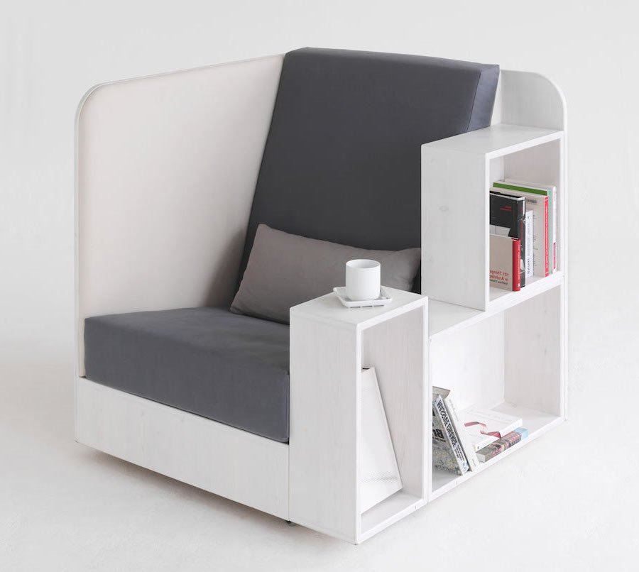 A Reading Paradise Armchair | Striking, Modern, and Incredible Furniture Designs | Brain Berries