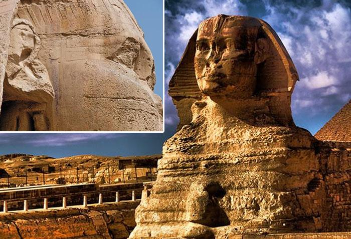 A secret below Sphinx's ear | 7 Mysterious Findings That Have Been Baffling Scientists For Years | ZestRadar