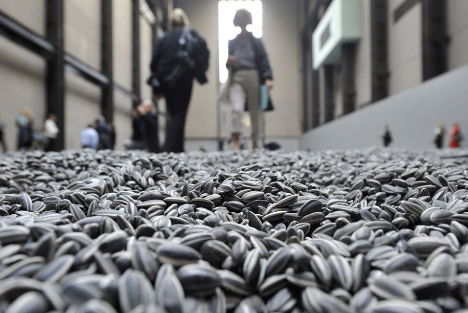 Sunflower Seeds | 10 Largest Art Installations | Brain Berries