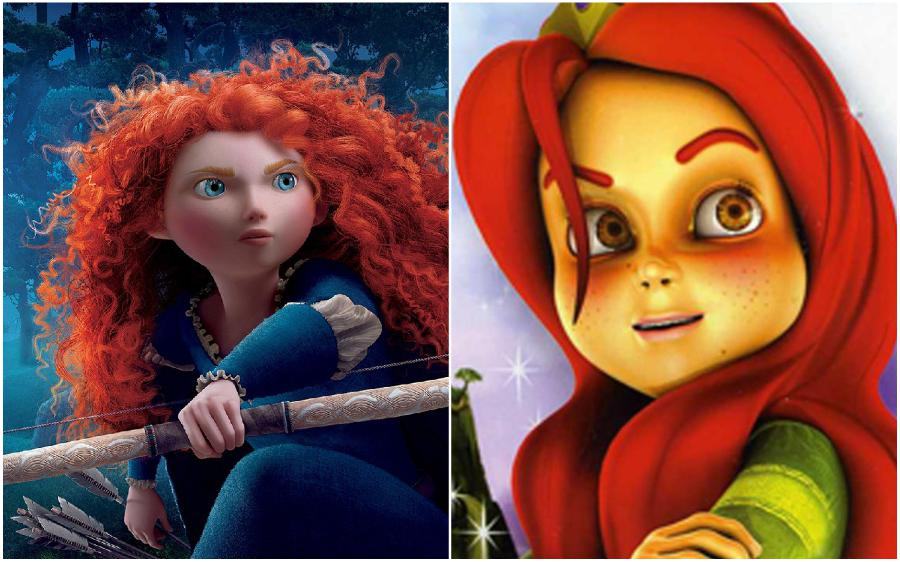 Brave (USA) – Kiara the Brave (India) | Your Favorite Cartoon Characters Look So Different In Other Countries | ZestRadar