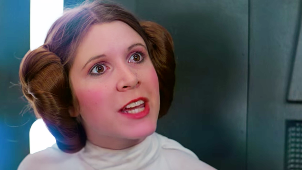 Carrie Fisher – Princess Leia | 11 Actors That Will Always Be Defined By That One Role | Brain Berries