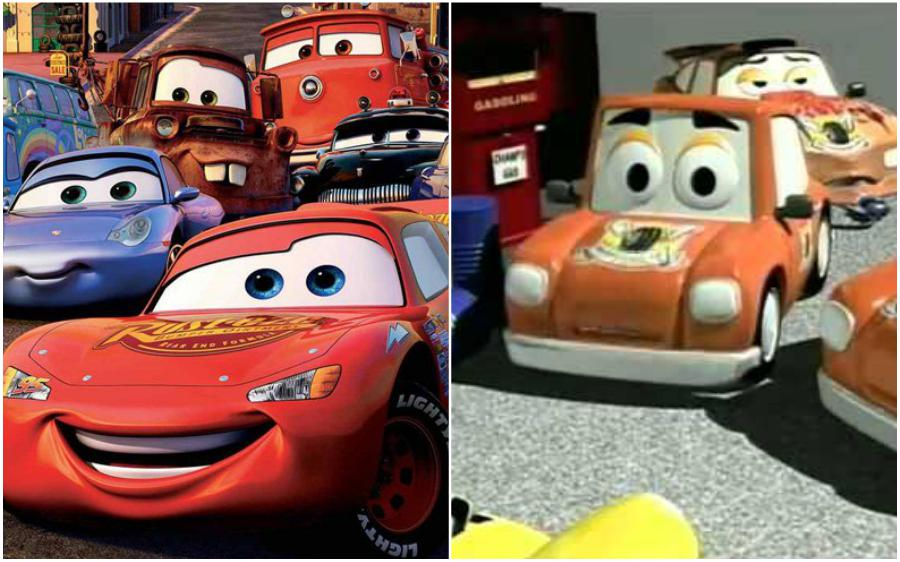 Cars (USA) – The Little Cars in the Great Race (Portugal) | Your Favorite Cartoon Characters Look So Different In Other Countries | ZestRadar
