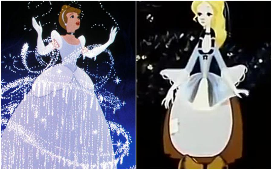 Cinderella (USA) – Zolushka (Russia) | Your Favorite Cartoon Characters Look So Different In Other Countries | ZestRadar