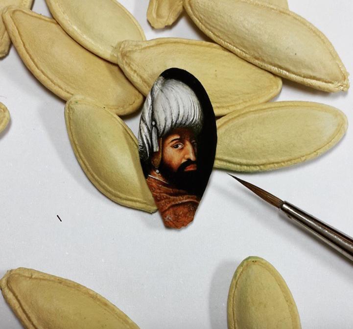 Hasan Kale #2 | 8 Astoundingly Tiny Art Pieces | BrainBerries