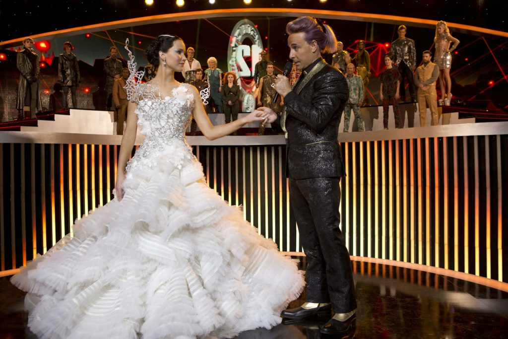 Jennifer Lawrence (The Hunger Games: Catching Fire) | 7 Gorgeous Movie Dresses That Were A Nightmare To Wear | ZestRadar