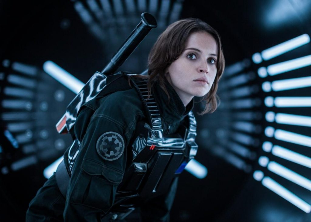 "Jyn Erso and Other Rebels – ""Rogue One: A Star Wars Story"" (2016) 