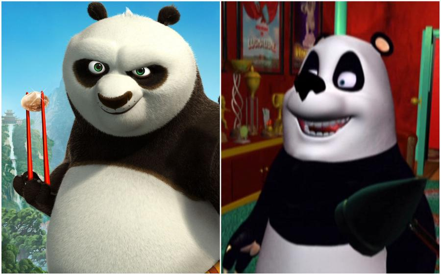 Kung Fu Panda (USA) – The Little Panda Fighter (Brazil)  | Your Favorite Cartoon Characters Look So Different In Other Countries | ZestRadar