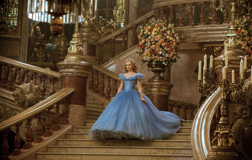 Lily James (Cinderella) | 7 Gorgeous Movie Dresses That Were A Nightmare To Wear | ZestRadar
