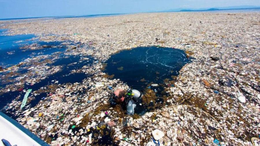 Photographer Reveals Shocking Pictures Of The Caribbean Full Of Debris, Plastic, And Styrofoam #8   ZestRadar