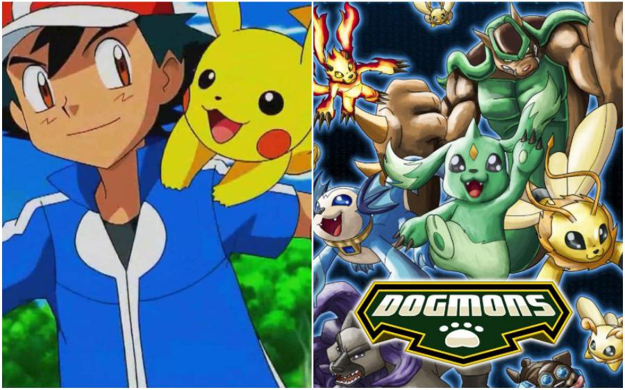 Pokémon (Japan) – Dogmons (Brasil) | Your Favorite Cartoon Characters Look So Different In Other Countries | ZestRadar