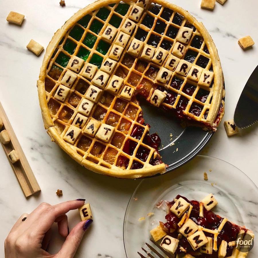 Scrabble  | 13 Pies that Will BLOW Your Mind | ZestRadar