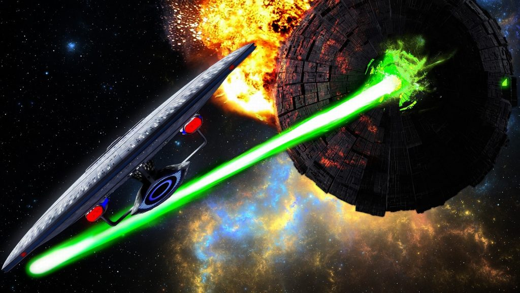 Laser Beams are visible | 8 Space Myths We Believe Because Of Movies | Brain Berries