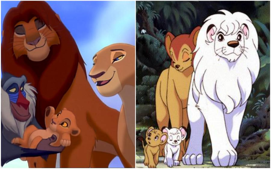 The Lion King (USA) – Jungle Emperor Leo (Japan) | Your Favorite Cartoon Characters Look So Different In Other Countries | ZestRadar