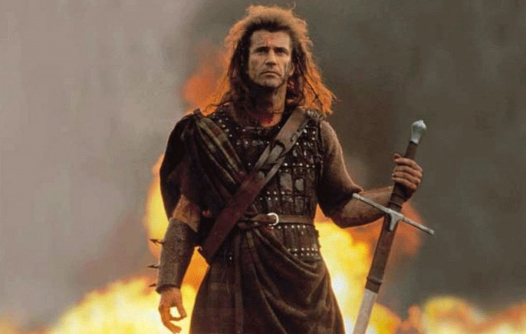 "William Wallace – ""Braveheart"" (1995) 