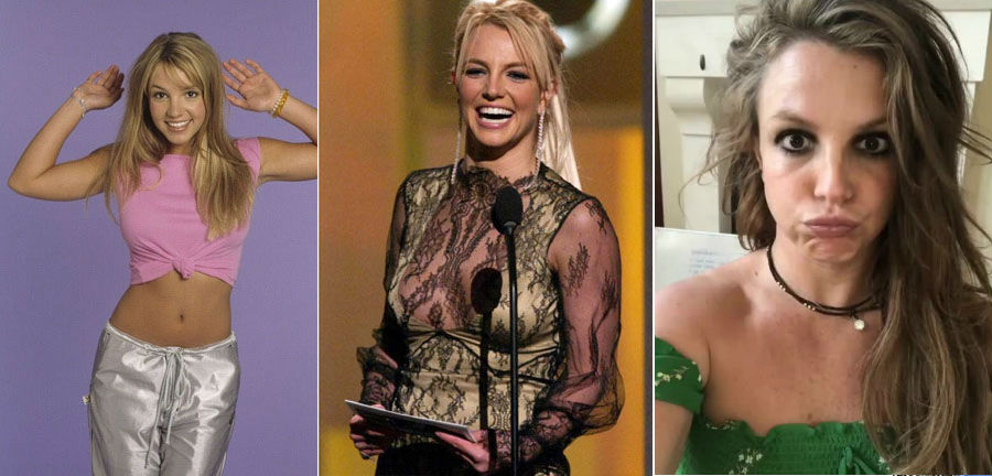 Britney Spears | How 9 Iconic Singers Changed Over The Last Few Decades ZestRadar