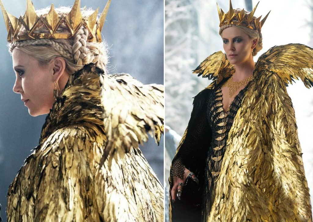 Charlize Theron (Snow White and the Huntsman: Winter's War) | 7 Gorgeous Movie Dresses That Were A Nightmare To Wear | ZestRadar