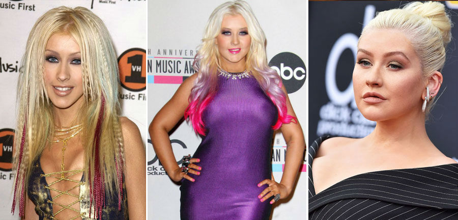 Christina Aguilera | How 9 Iconic Singers Changed Over The Last Few Decades ZestRadar