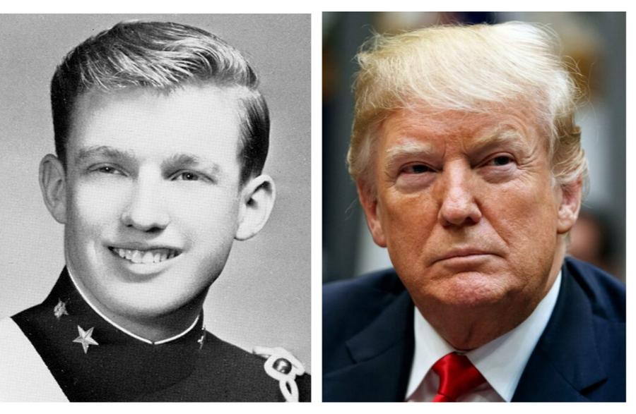 Дональд Трамп  | Как выглядели известные политики в молодости | ZestRadar