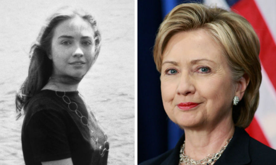 Хиллари Клинтон | Как выглядели известные политики в молодости | ZestRadar