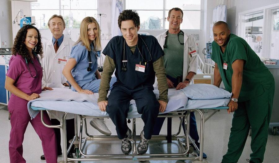 Клиника   8 сериалов, которые можно пересматривать бесконечно   ZestRadar