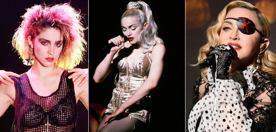 Madonna | How 9 Iconic Singers Changed Over The Last Few Decades ZestRadar
