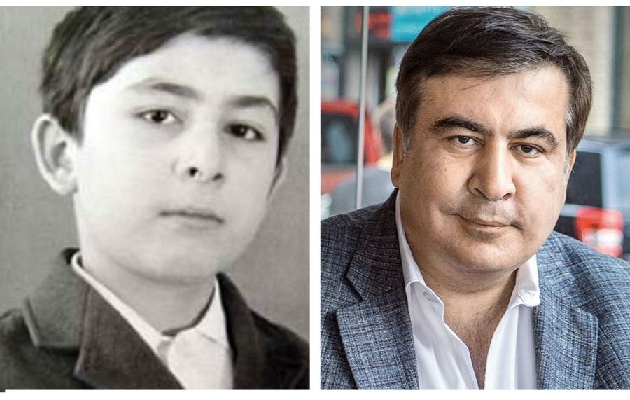 Михаил Саакашвили  | Как выглядели известные политики в молодости | ZestRadar