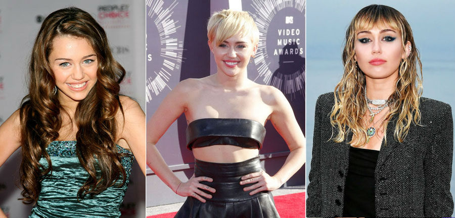 Miley Cyrus | How 9 Iconic Singers Changed Over The Last Few Decades ZestRadar