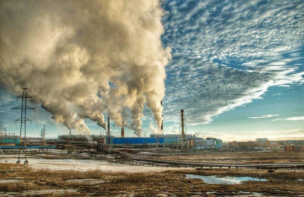 Норильск, Красноярский край | 10 самых грязных городов России | Brain Berries