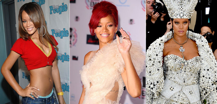 Rihanna | How 9 Iconic Singers Changed Over The Last Few Decades ZestRadar