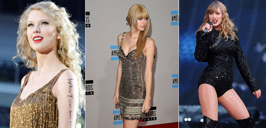 Taylor Swift | How 9 Iconic Singers Changed Over The Last Few Decades ZestRadar