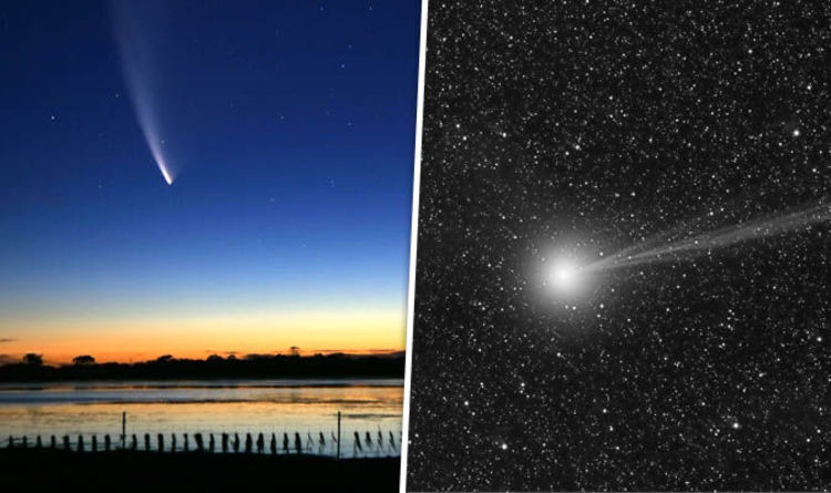 Top 8 Comets Flying Closest to Earth | Brain Berries