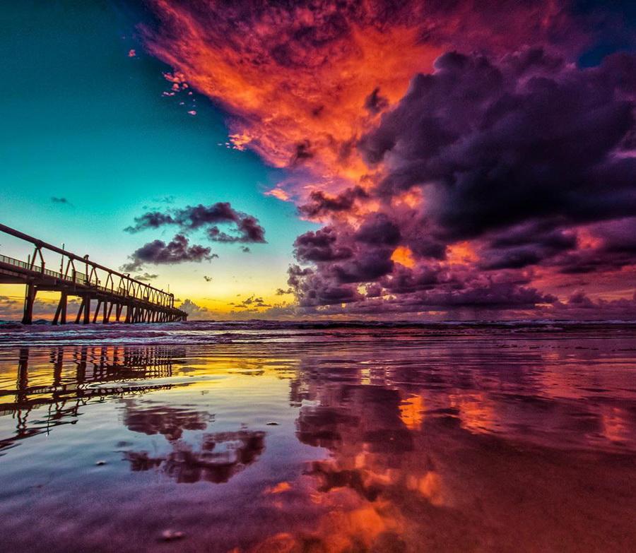 Удивительные кадры заката австрийского фотографа #7 | ZestRadar