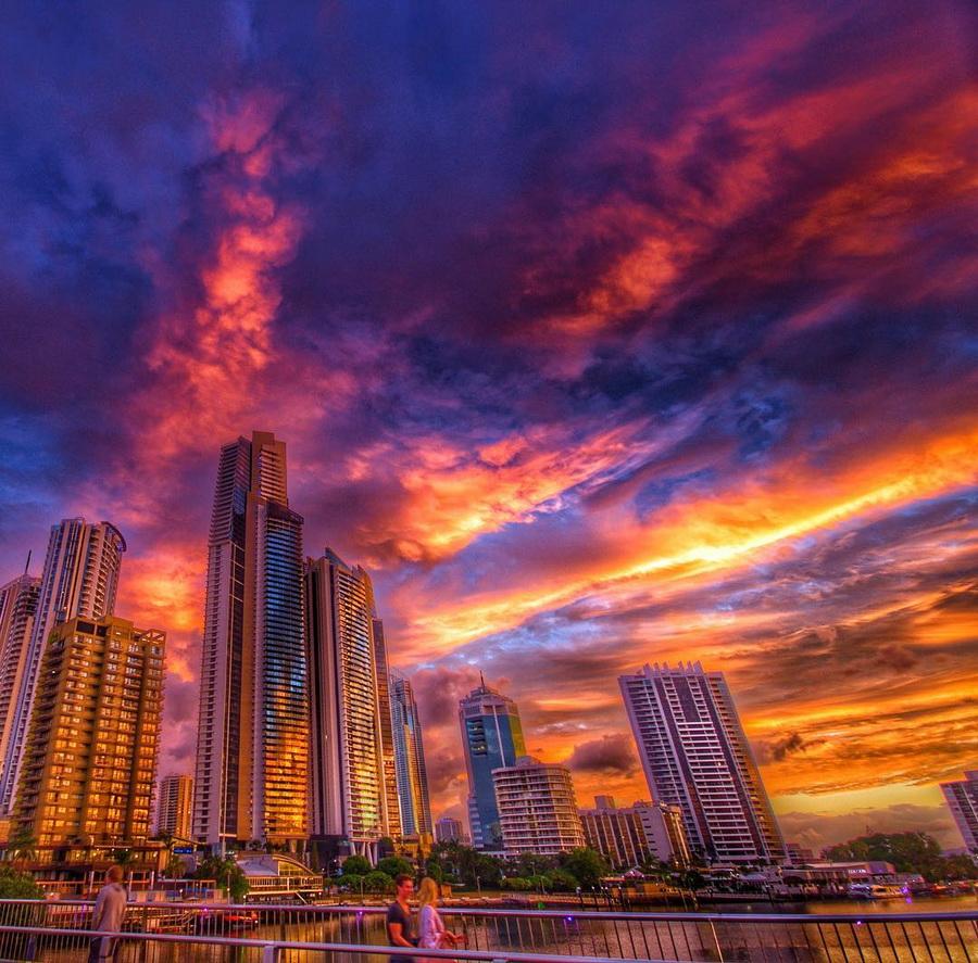 Удивительные кадры заката австрийского фотографа #10 | ZestRadar
